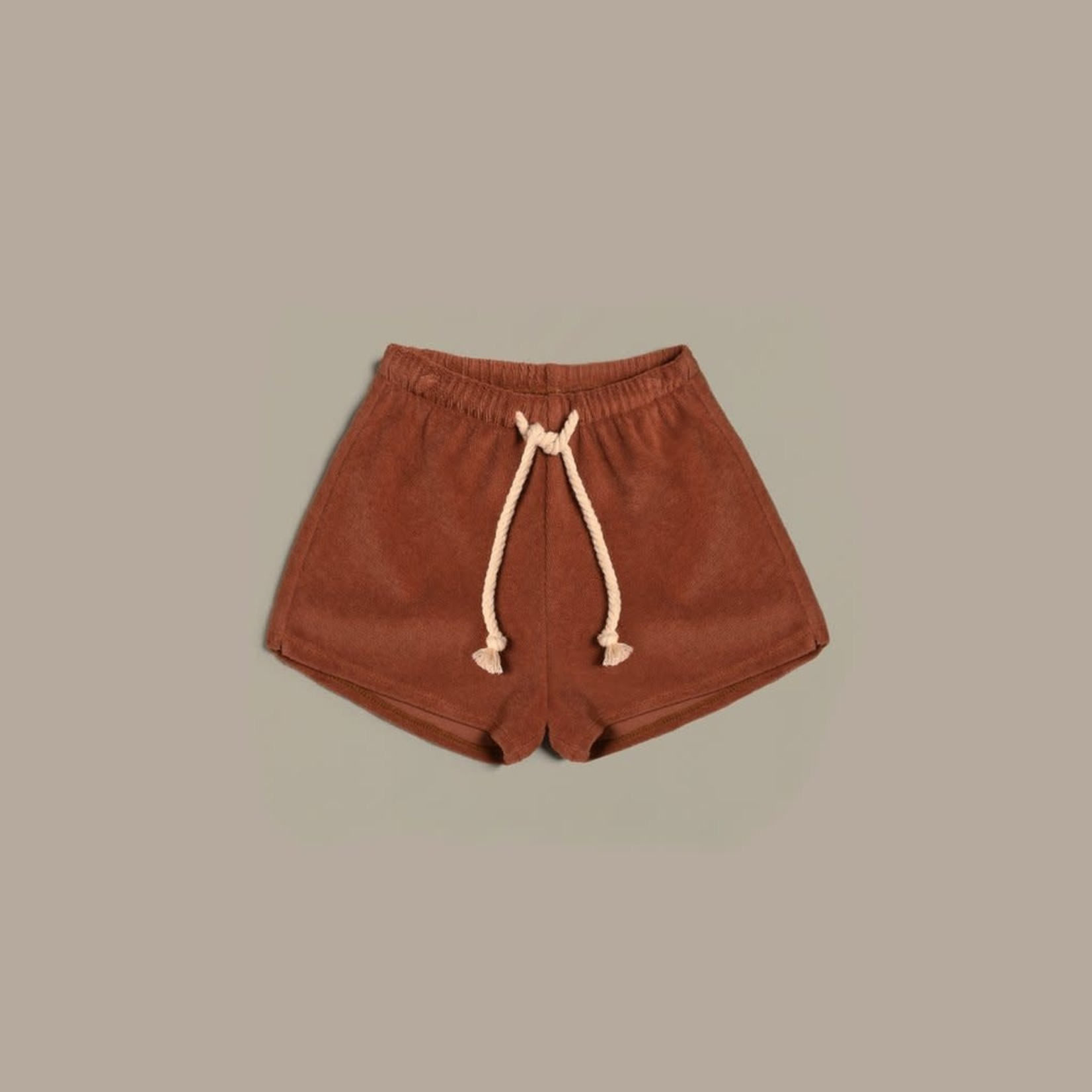 Organic Zoo Rope Shorts - Deep Earth