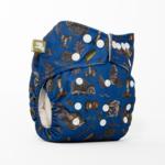 LittleLamb One Size Pocketluier (Truffle Shuffle)