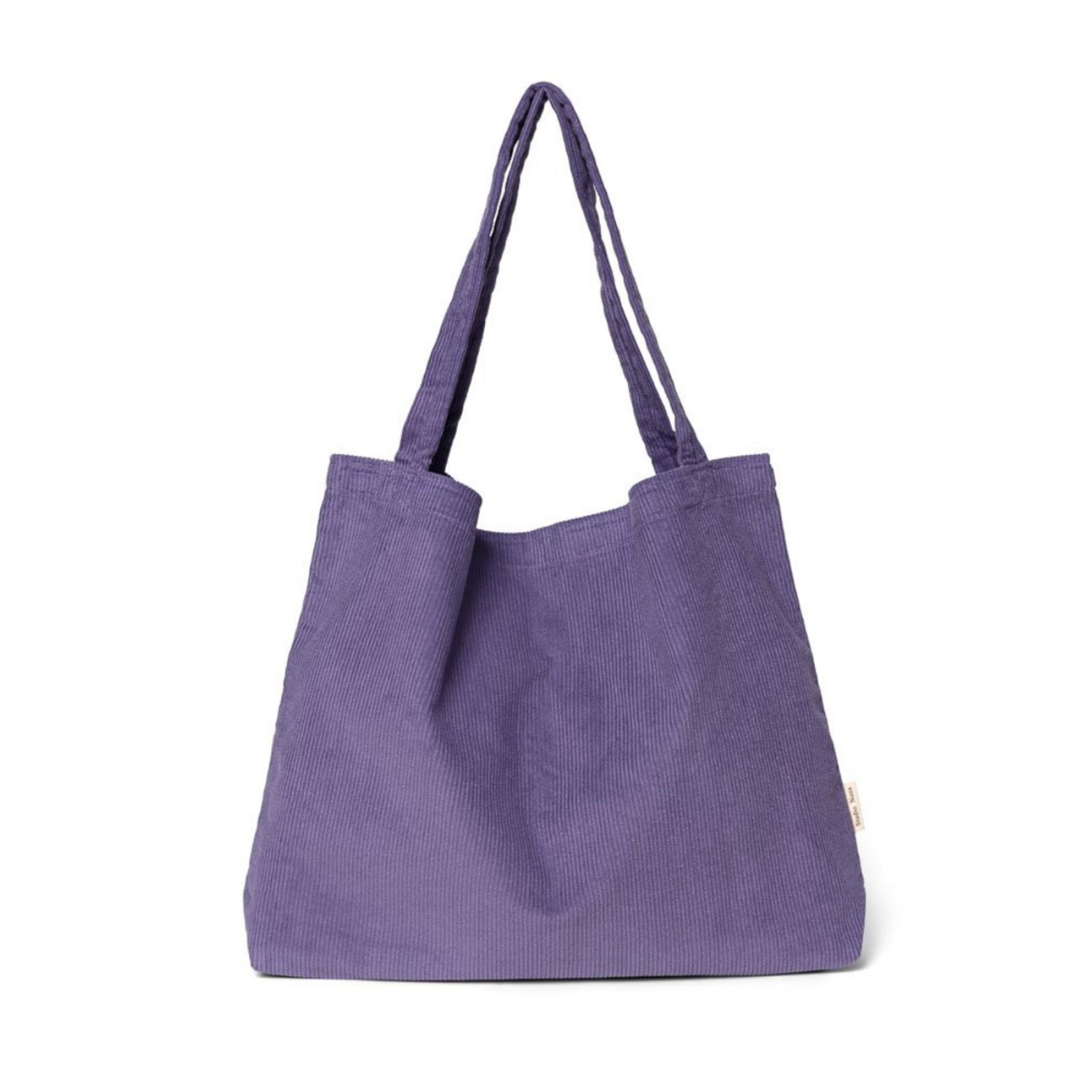 Studio Noos Purple rain rib mom-bag
