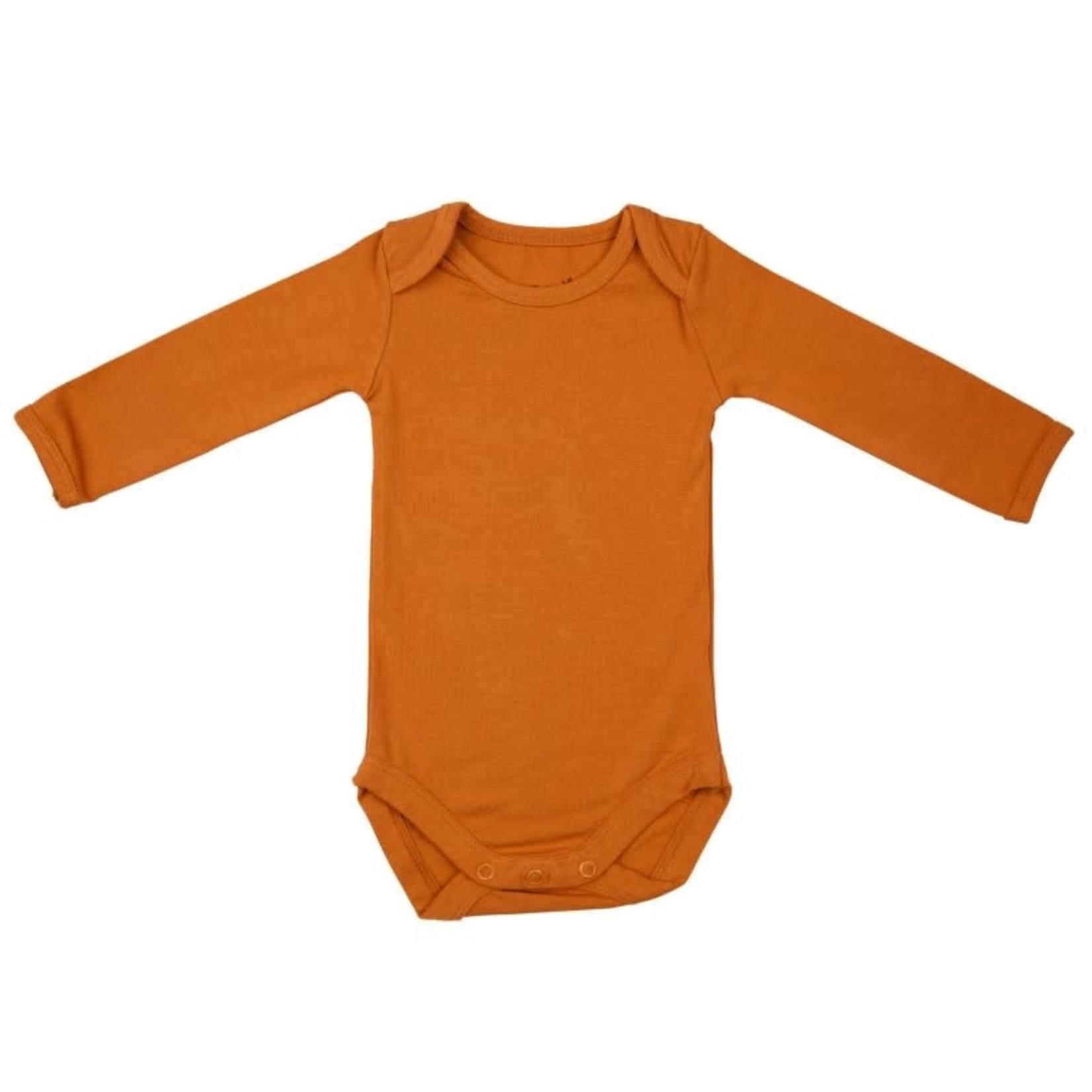Timboo Romper met lange mouwen (Inca Rust)