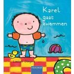 Clavis Karel gaat zwemmen