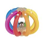 Heimess Grijpspeeltje regenboog met belletje