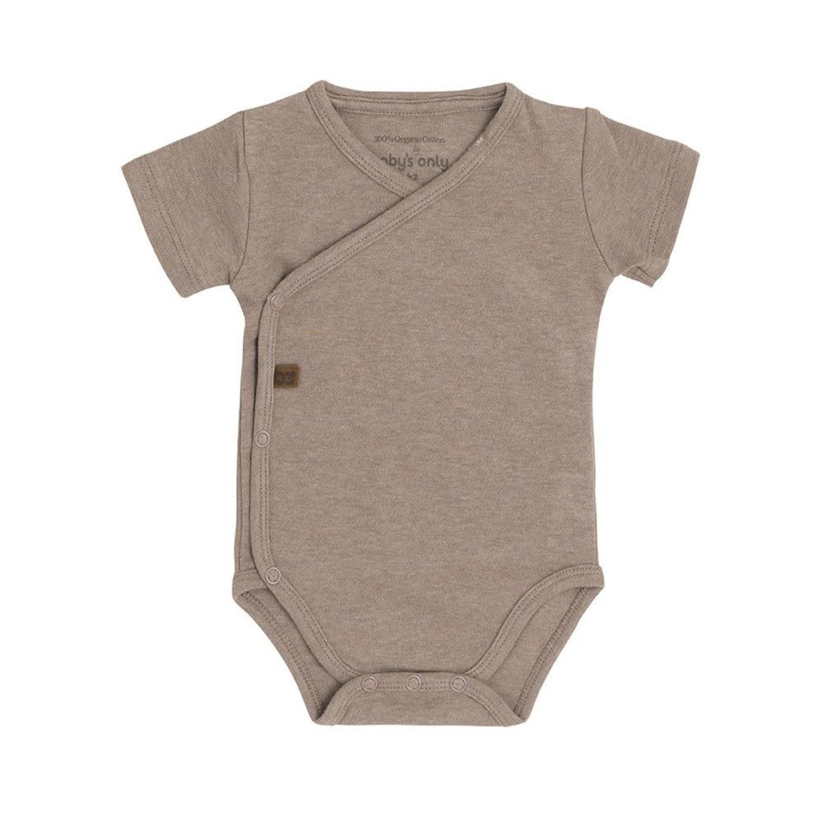 Baby's Only Romper korte mouw Melange (Clay)