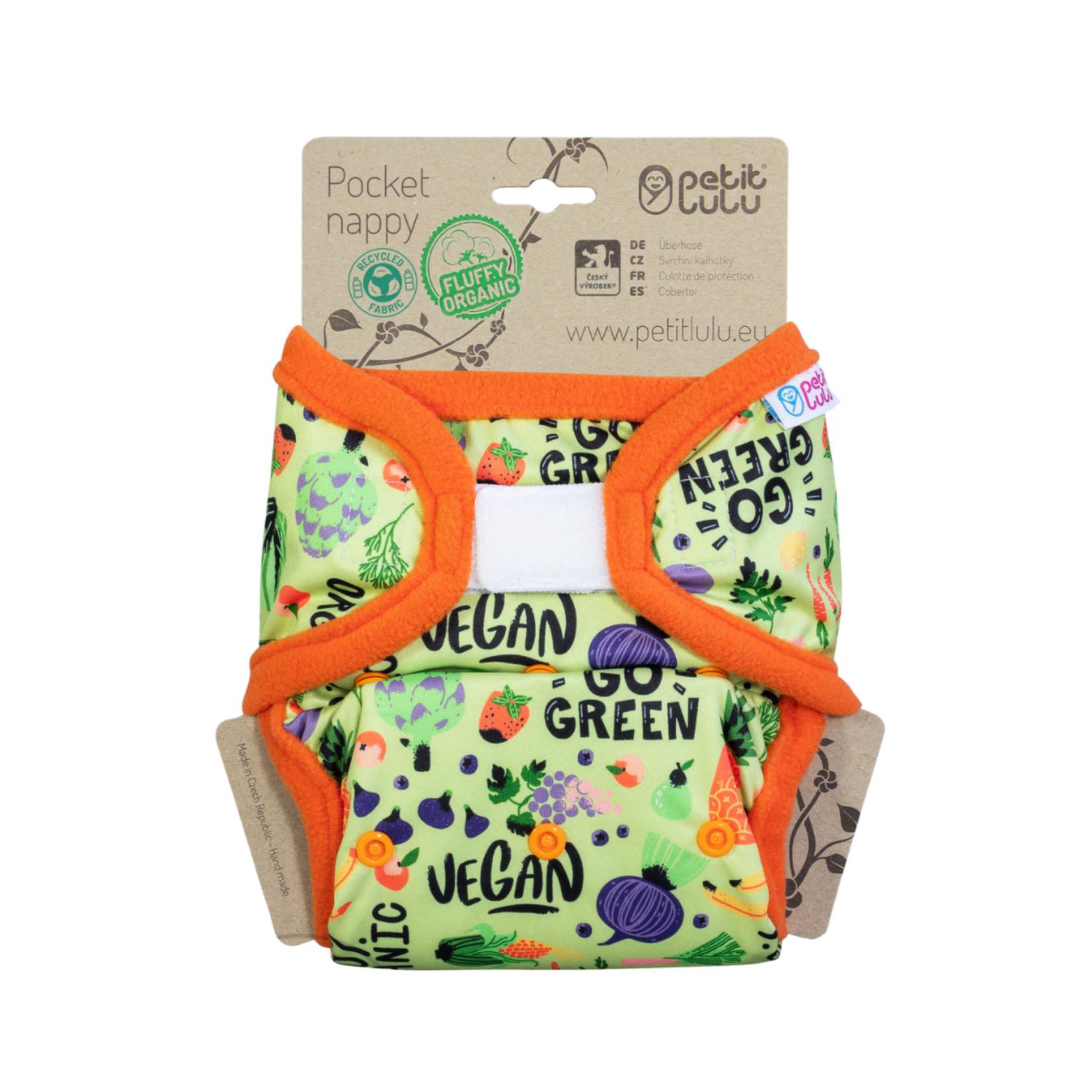 Petit Lulu Pocketluier (Go Green) Velcro