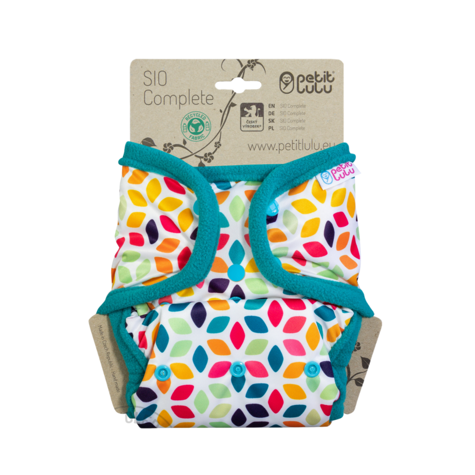 Petit Lulu SIO Complete (Floral Cubes) Snaps