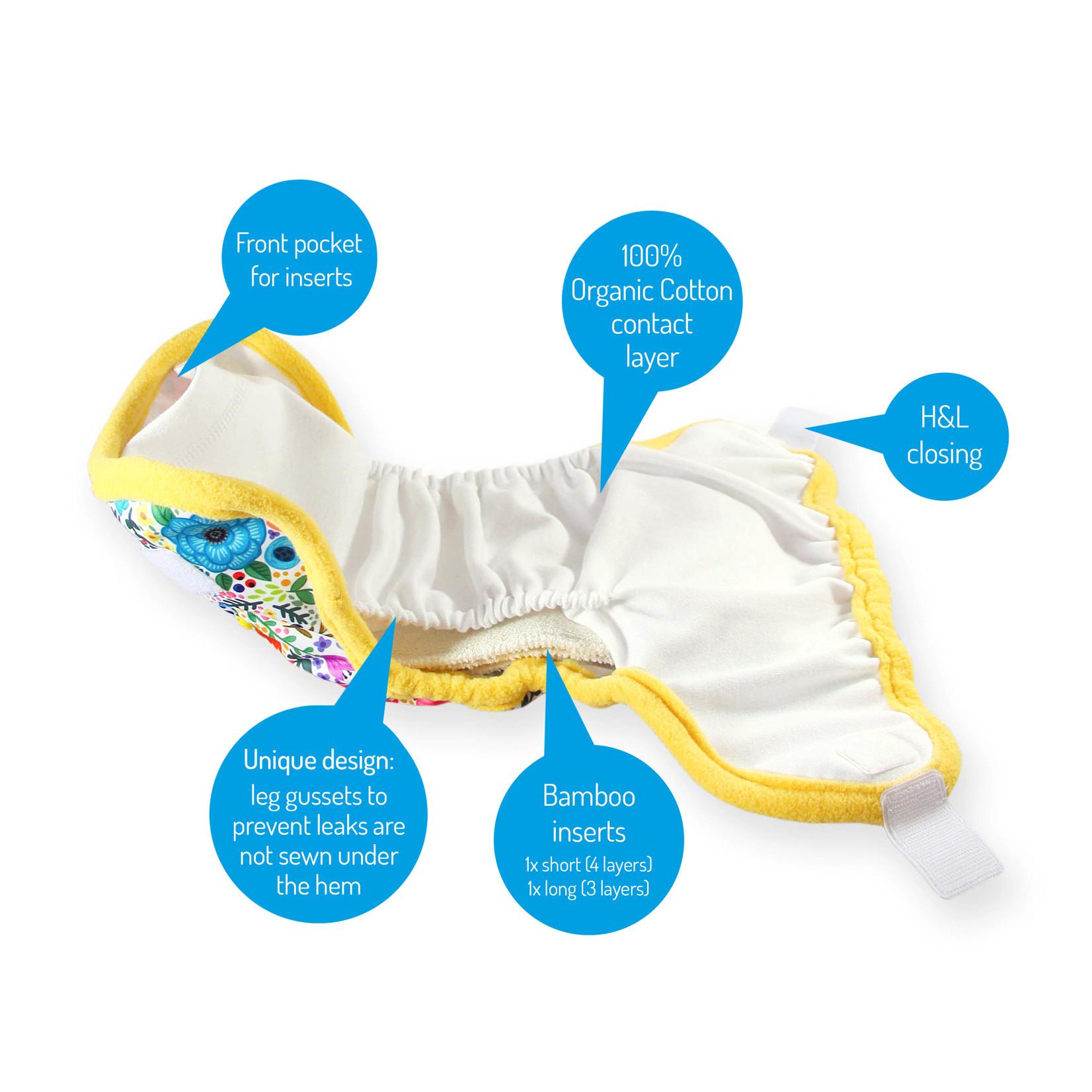Petit Lulu Pocketluier (Chilling Sloth) Velcro