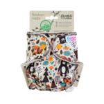 Petit Lulu Newborn luier Fluffy Organic (Forest Friends)