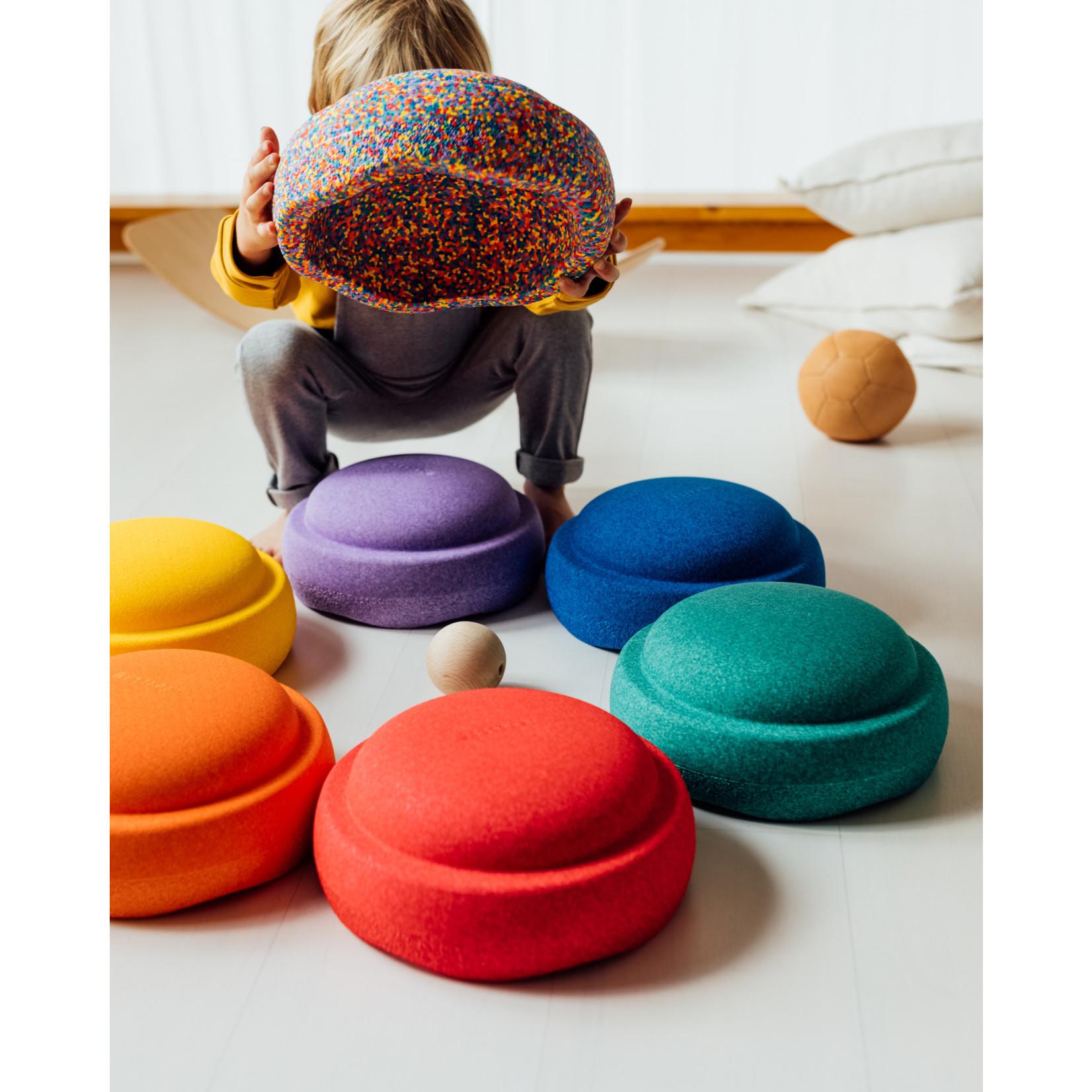 Stapelstein Rainbow Basic + GRATIS Confetti