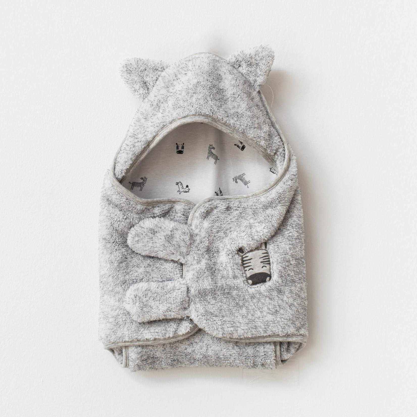 Baby Swaddle Welsoft Zebra