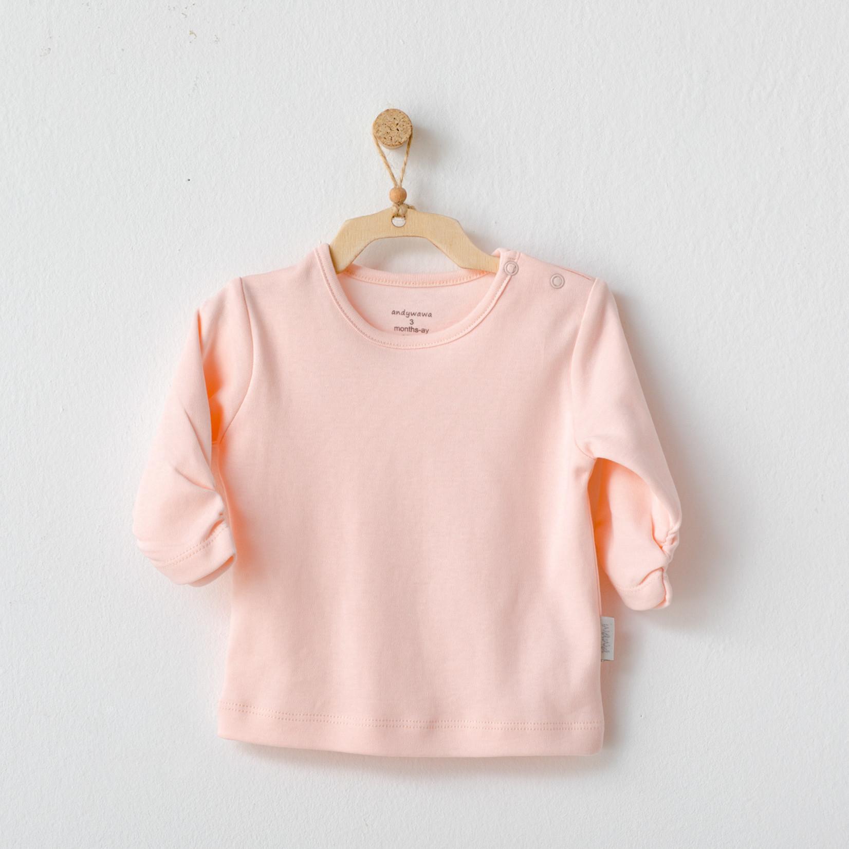 T-shirt voor Babymeisjes Roze