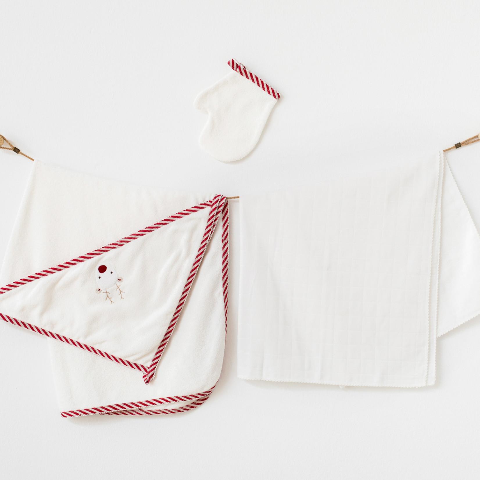 Driedelige Babyhanddoek Set
