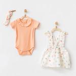 Driedelige Babymeisjes Kleding Set