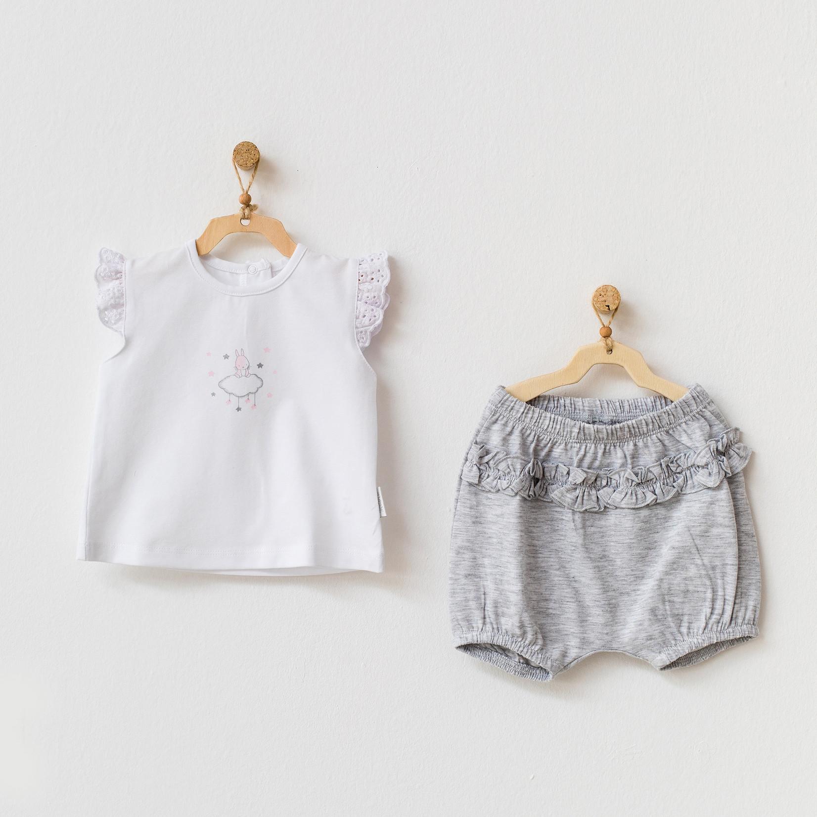 Baby Meisjes Short & T-shirt Kleding Set