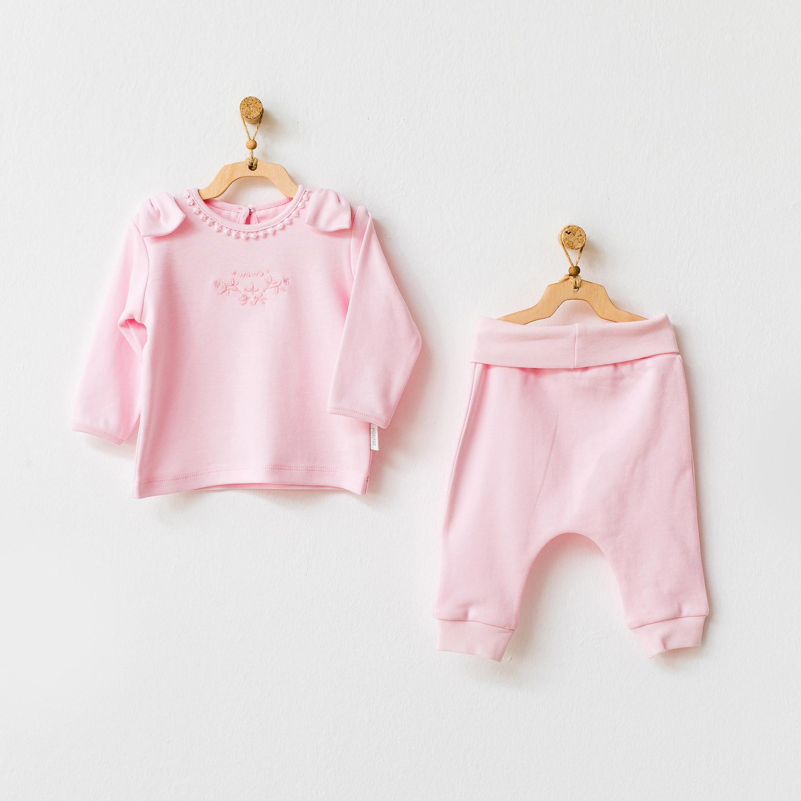 Tweedelige Biologische Babykleding Set Natura Wawa