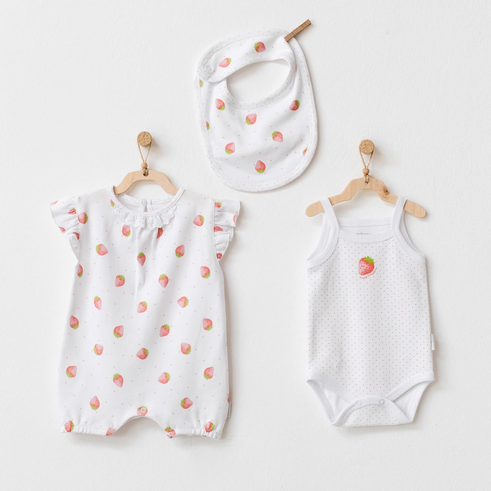 Babymeisjes Driedelige Set