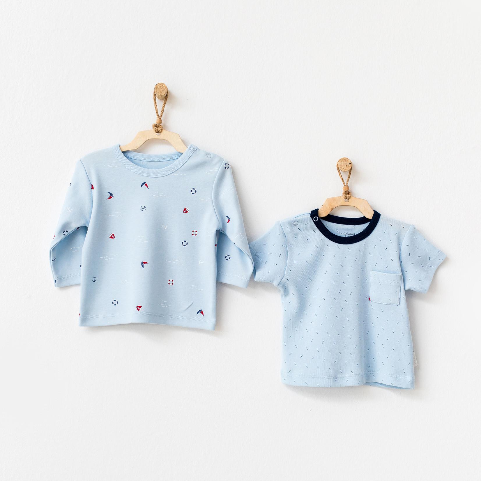 Set van 2 Babyjongens T-shirts