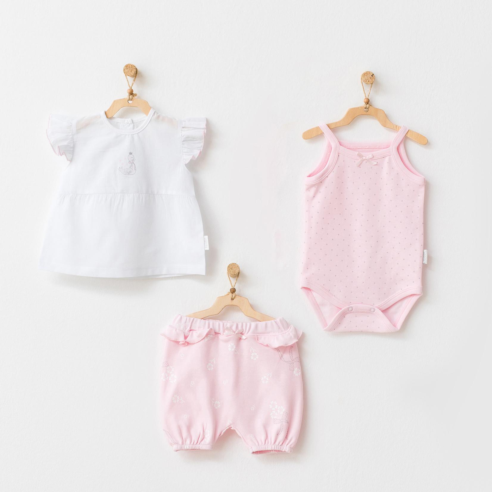 Driedelige Set voor Babymeisjes Milly Ballet