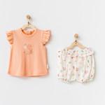Tweedelige Set voor Babymeisjes  Starfish and Friends