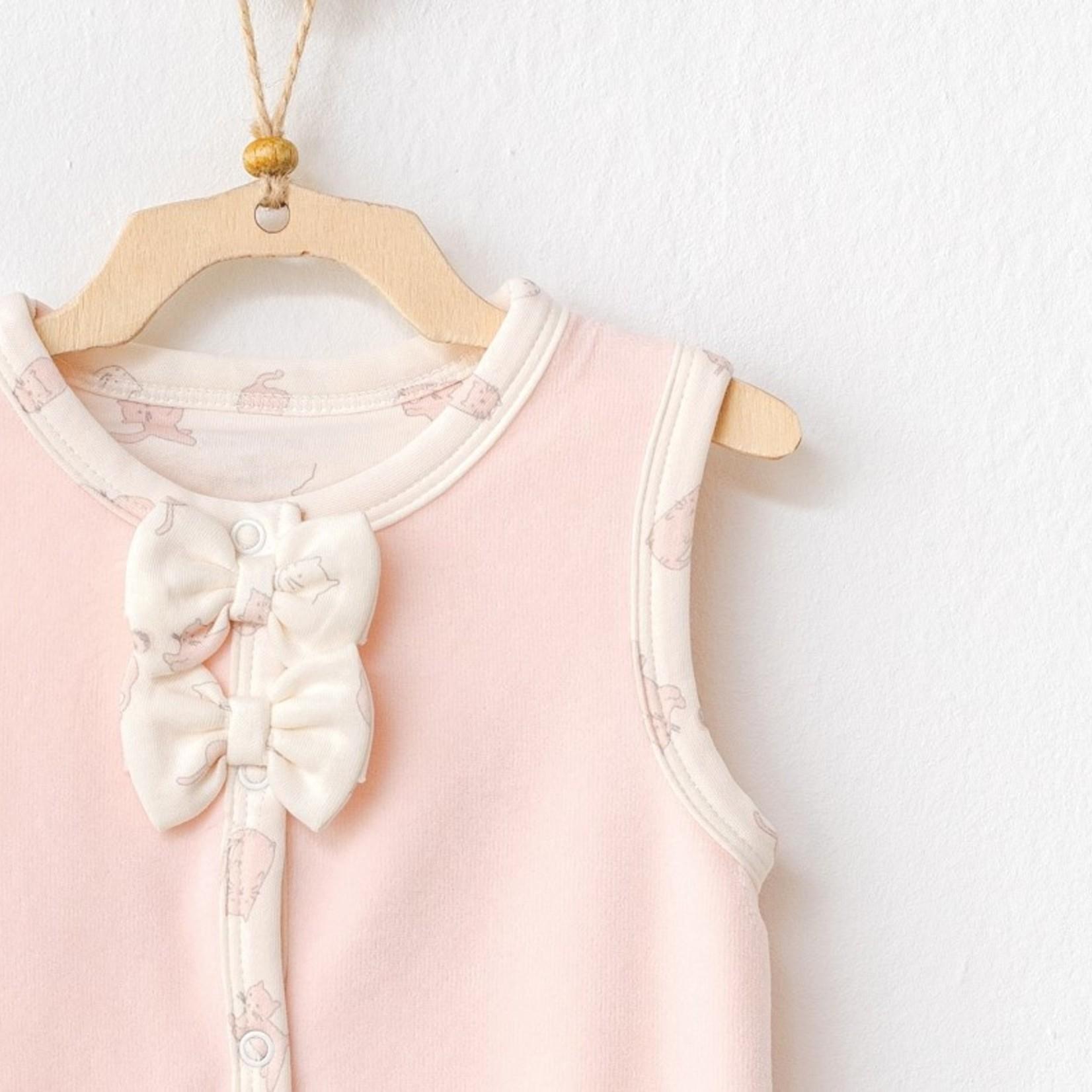 Babymeisjes Fluwelen Vest Poesjes