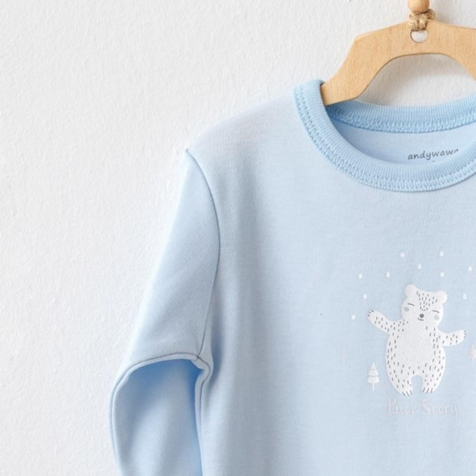 Tweedelige Set van Babykleding Jongens Longsleeve Trui en Broekje