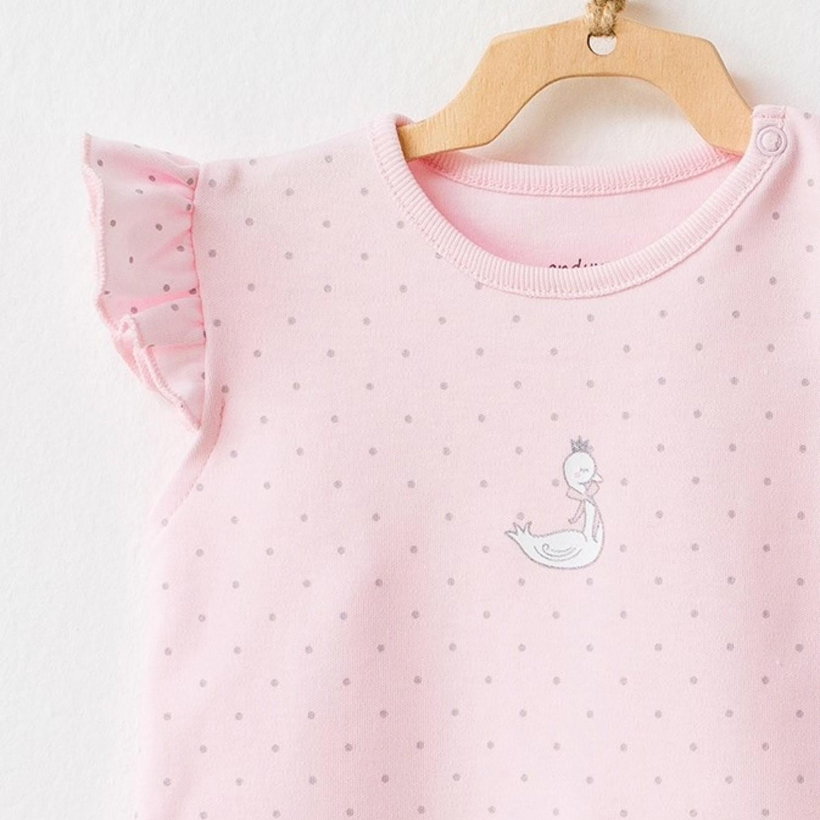 Tweedelige Set voor Babymeisjes  T-shirt & Short