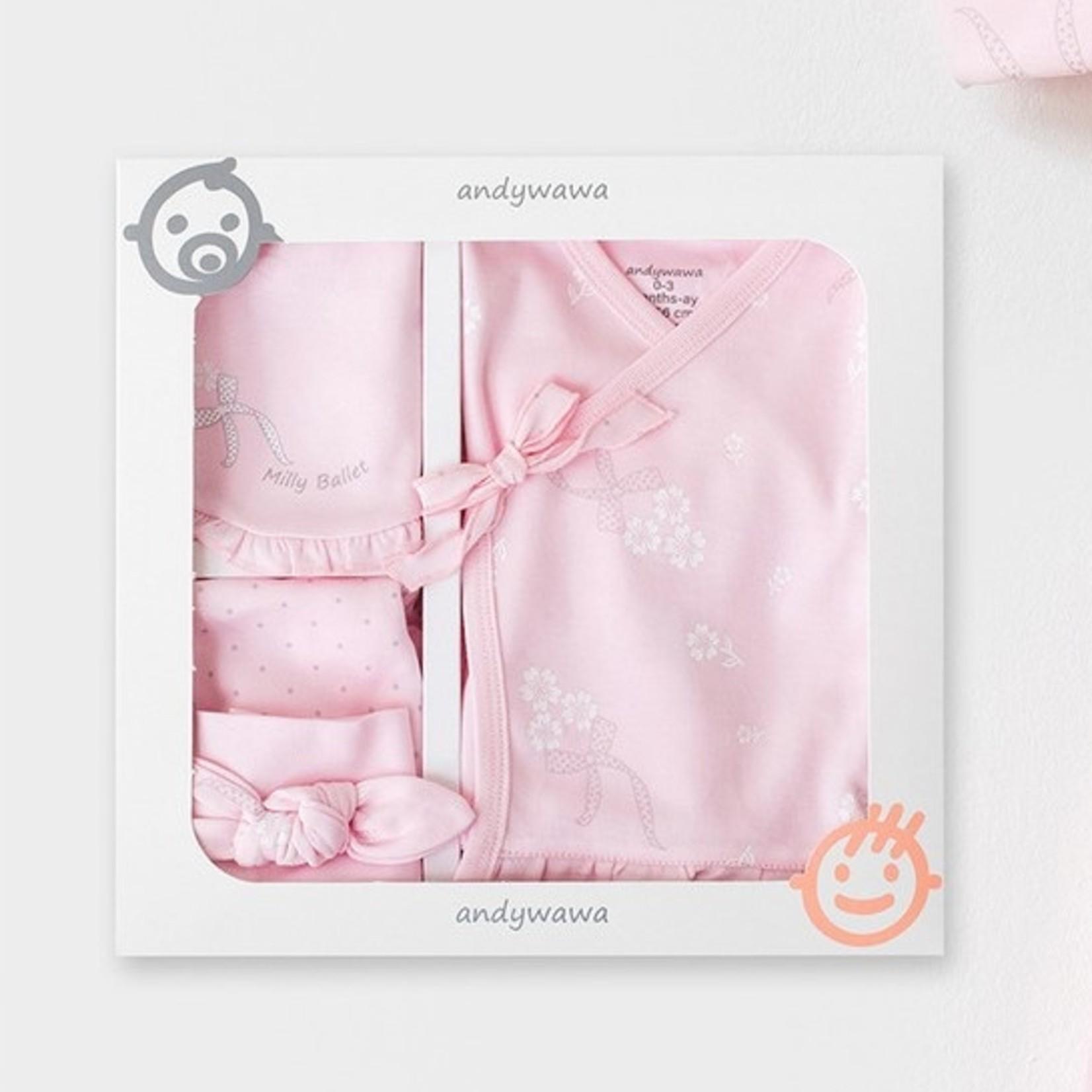 Babymeisjes Newborn Set
