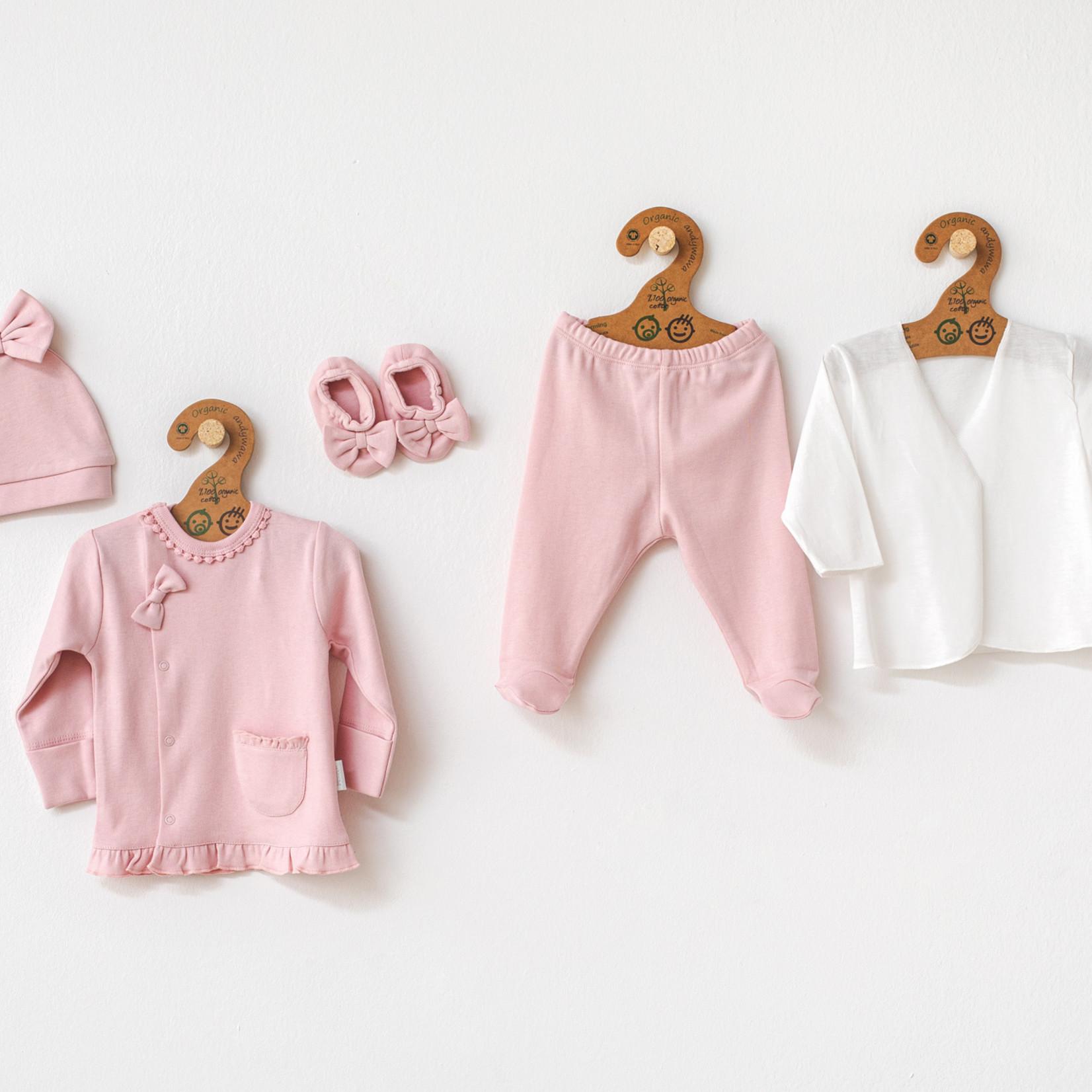 Babymeisjes Newborn Set Biologisch Katoen