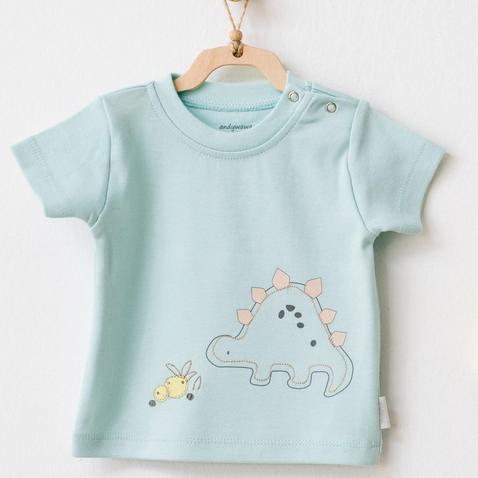 Babyjongens Short & T-shirt Kleding Set Dino Team
