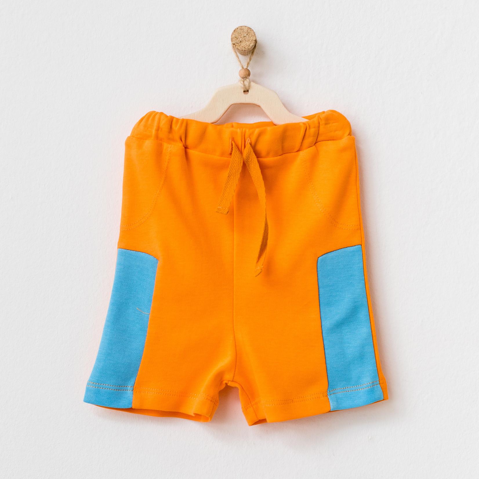 Oranje Short voor Babyjongens Play Time