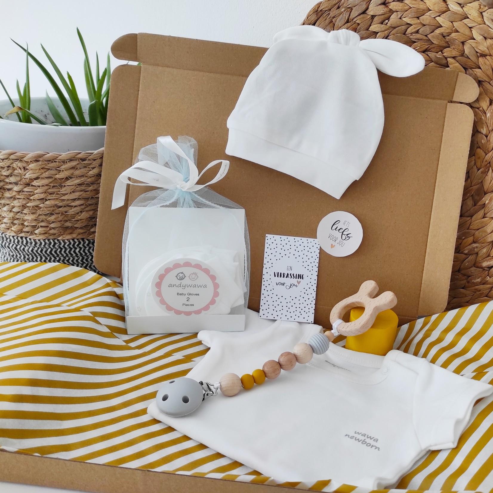 Kraamcadeau Set voor Babymeisjes Orchid