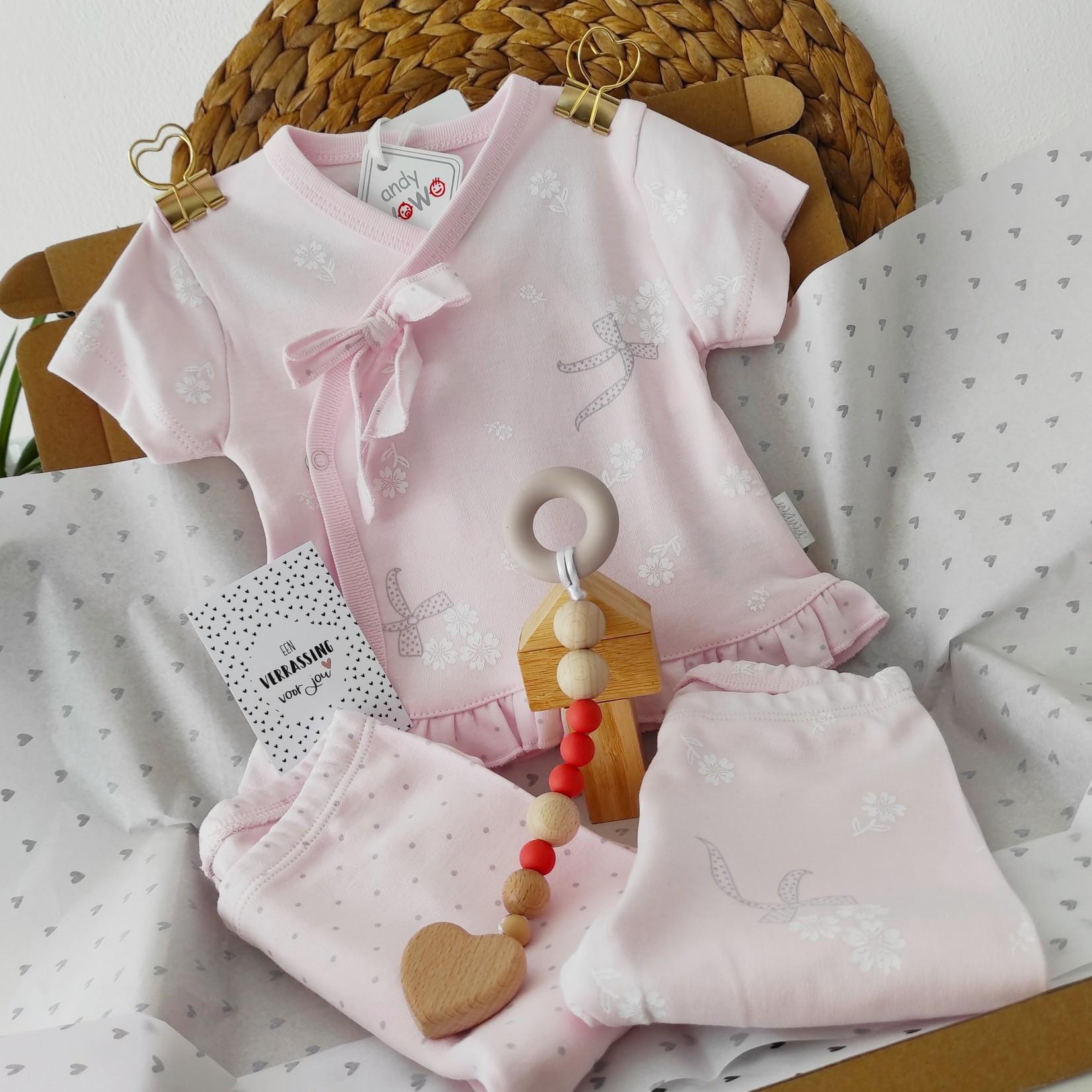 Kraamcadeau Set voor Babymeisjes Rose
