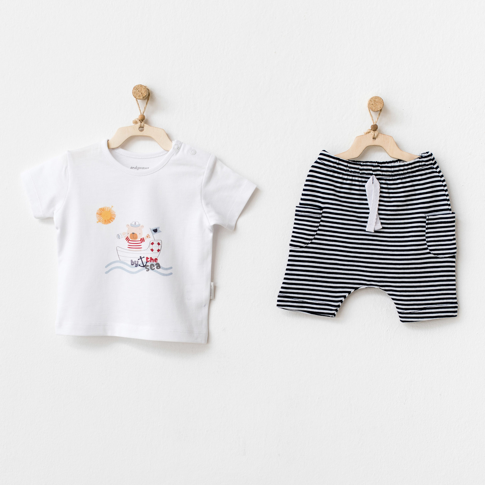 Babyjongens Short & T-shirt Set