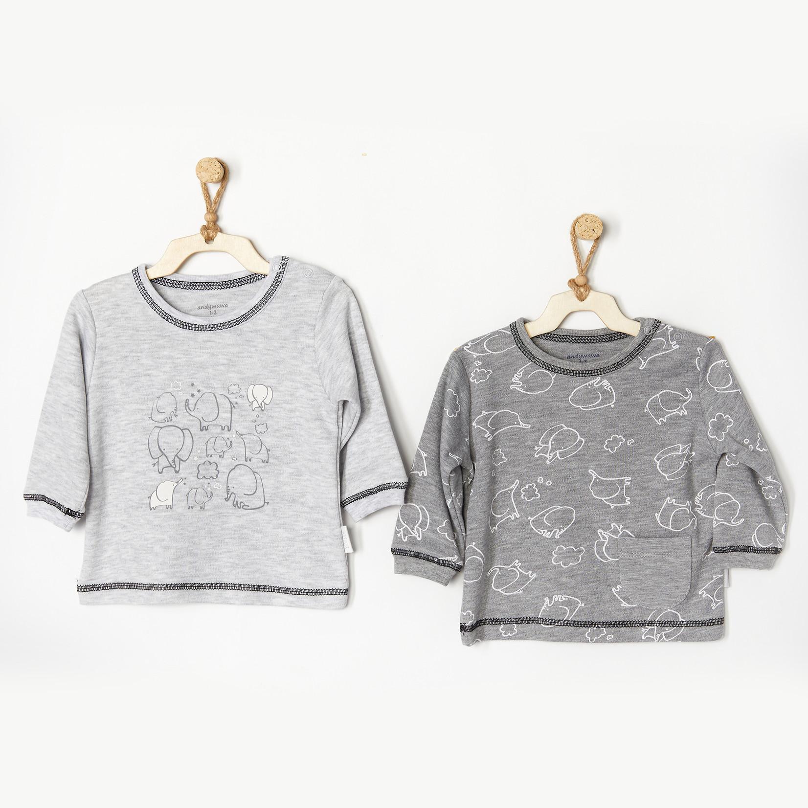 Babyjongens Sweaters Set Mama Papa