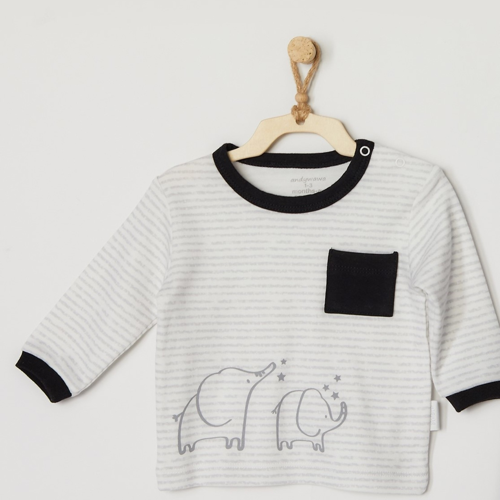 Babyjongens Sweater en Broek Set Mama Papa