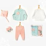 Babymeisjes Newborn Set Bloemetje