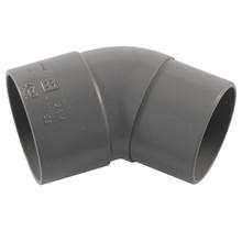 PVC 40 mm Mof/Spie Bocht 45°