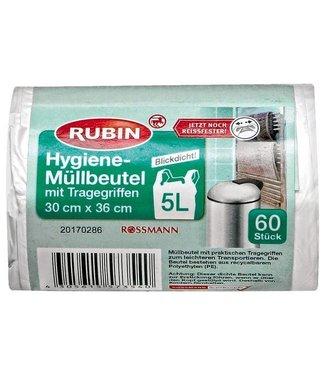 RUBIN RUBIN Vuilniszakken 5L