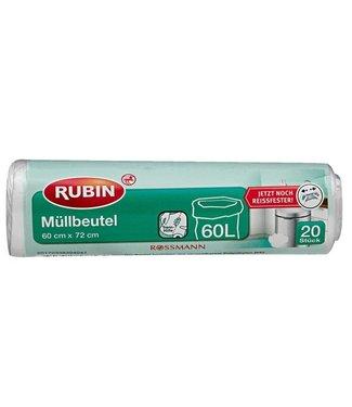 RUBIN RUBIN Vuilniszakken 60L