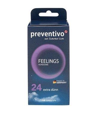 PREVENTIVO PREVENTIVO Feelings Condooms