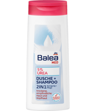 Balea MED Balea Med Douchegel en Shampoo 2in1 5% Urea