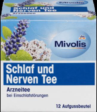 Mivolis Mivolis Medicinale Slaap- en Zenuwthee (12x1,5 gram)