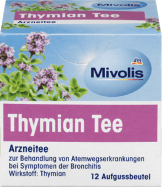Mivolis Mivolis Medicinale Tijmthee (12x1,4g)