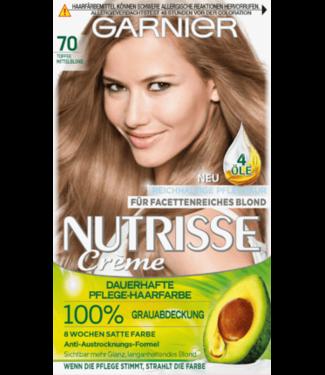Garnier Nutrisse Garnier Nutrisse Haarverf Kleur Middenblond - Toffee 70