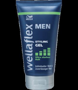 wella Wellaflex Men Styling Gel Ultra Strong