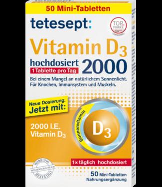 tetesept tetesept Vitamine D3-tabletten 50 stuks