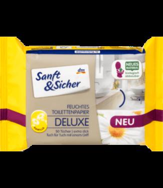 Sanft & Sicher Sanft&Sicher Vochtig Toiletpapier Deluxe Kamille Navulverpakking