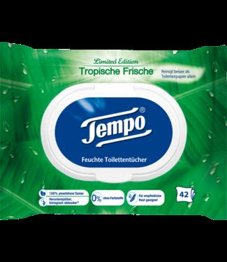 Tempo Tempo Vochtig Toiletpapier Tropisch Fris