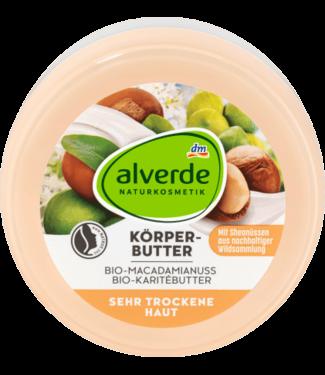 ALVERDE NATURKOSMETIK alverde Body Butter Macadamia Nuts Shea Butter
