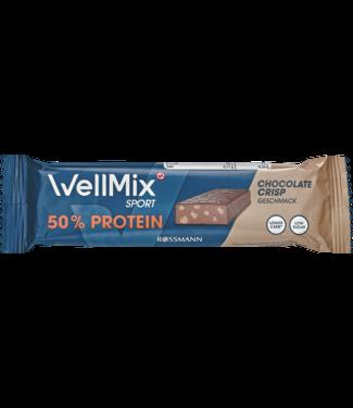 Wellmix Wellmix  Sport Proteïnereep Chocolate Crisp