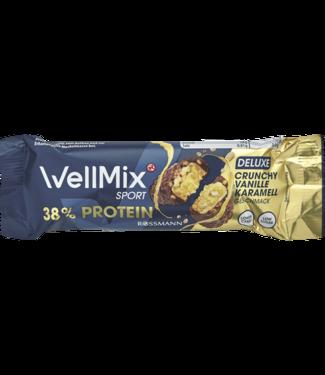 Wellmix Wellmix  Sport Proteïnereep Crunchy Vanilla Caramel